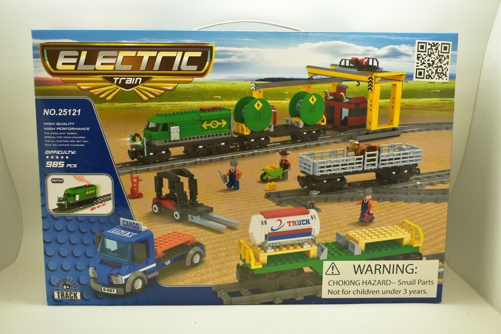 AUS25121 Imex   Ausini Elettrico Deluxe Set Treno 985  Pezzi Diesel Merci Treno  consegna gratuita e veloce disponibile