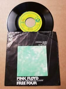 Pink-Floyd-Free-Four-Vinyl-7-034-45-RPM-Single-1972-Sammlung-Rock