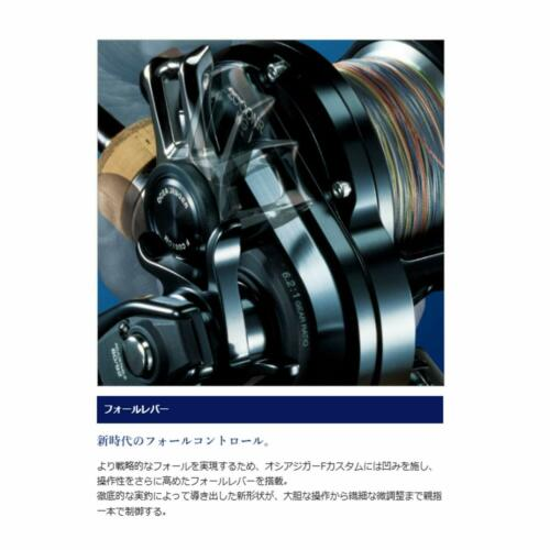 Shimano 19 OCEA JIGGER F Custom 1500HG 6.4 RH Baitcasting Reel New F//S