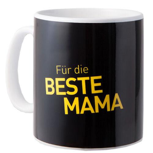 BVB Tasse Für die beste Mama Borussia Dortmund Fanartikel Kaffeebecher Becher Fußball