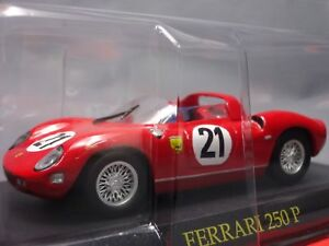Ferrari-Collection-250-P-1-43-Scale-Box-Mini-Car-Display-Diecast-vol-36