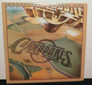 THE COMMODORES NATURAL HIGH (VG+) M7-902R1 LP VINYL RECORD