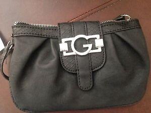 G By Guess Black Wristlet Wallet
