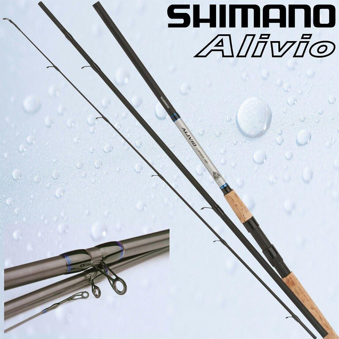Shimano Alivio CX Match 420 3tlg 5-20g 4,20m Matchrute, ALCX42