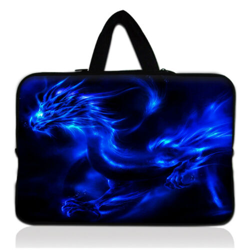 """17/"""" 17.3/"""" Laptop Bag Handle Carry Sleeve Case Cover Hand Bag for Notebook Print"""