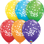 6-x-11-034-Printed-Qualatex-Latex-Balloons-Assorted-Colours-Children-Birthday-Party thumbnail 75