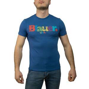 Blauer-T-Shirt-Uomo-Col-e-tg-varie-NUOVA-COLLEZIONE-S-S-19