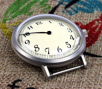 Sonderabschnitt 7982g-c Roter Stern Einzeigeruhr Solo / Red Star Single Hand Watch Solo Bequem Zu Kochen