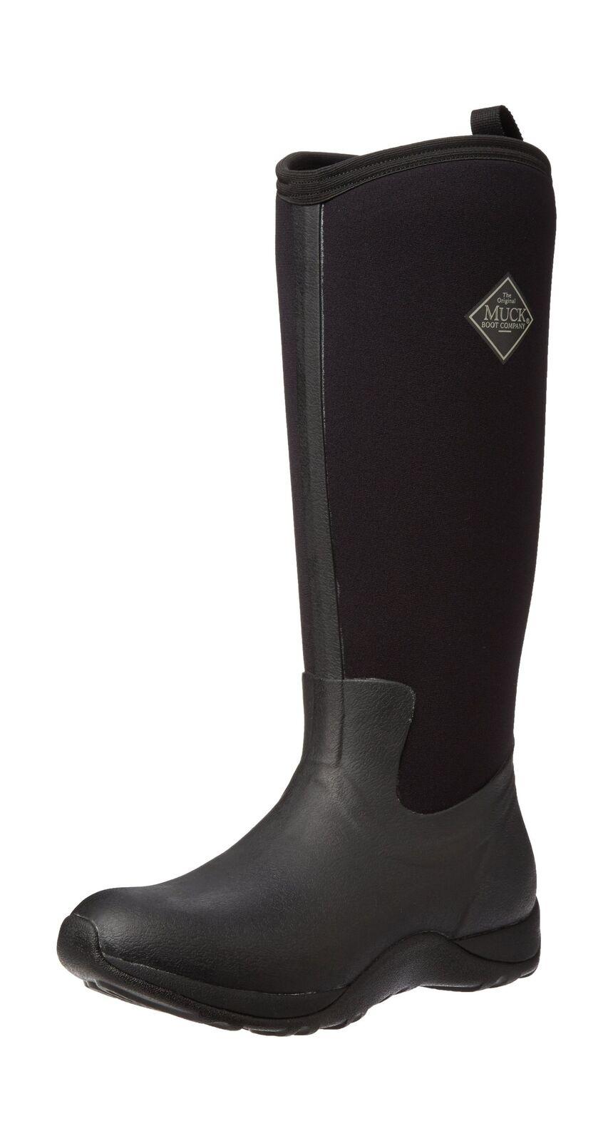 Muck Boots Arctic Adventure, Women's Rain Boots Black (Black) 7 UK