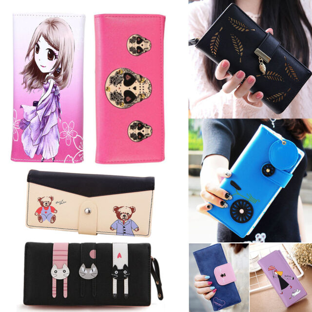 2017 Fashion Lady Women Clutch Long Purse Leather Wallet Card Holder Handbag Bag
