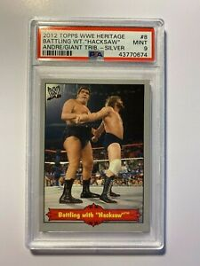 Andre-The-Giant-Tribute-2012-Topps-WWE-Heritage-8-Silver-PSA-9-Mint-Hacksaw
