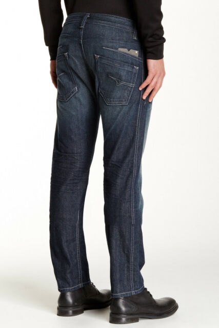 0bd6d49a NWT DIESEL Mens Darron 0RZ31 Regular slim-Tapered Jeans (Size 33 X 32)