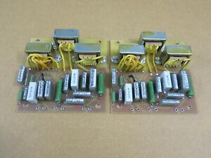 LS3/5A B-110 T27 15 Ohm Haut-parleur Crossover (réplique) 1 paire (Chartwell version)