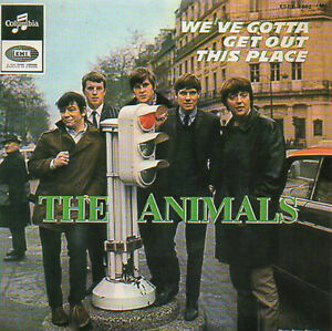 CD-Single-The-ANIMALS-We-039-ve-gotta-get-out-of-this-place-CARD-SLEEVE