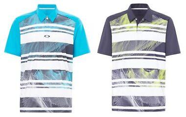 Oakley Men's Aero Stripe Mashie Polo Shirt (Various Colors/Sizes)