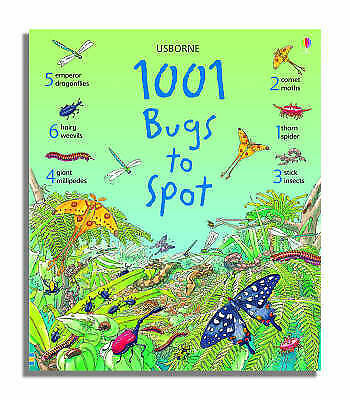 """""""AS NEW"""" Doherty, G., 1001 Bugs to Spot (1001 Things to Spot), Book"""