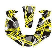 Miller Titanium 9400 7300 1600 Welding Helmet Wrap Decal Sticker Jig Welder 11