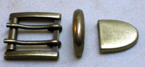 3 Pieces New Belt Buckle Double Pin Buckle For 25mm Belt Width Roll Buckle #-alle F. 25mm GÜrtelbreite Rollschnalle #