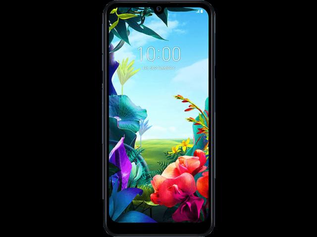 LG K40S Smartphone 32 GB Dual SIM New Aurora Black Neu OVP