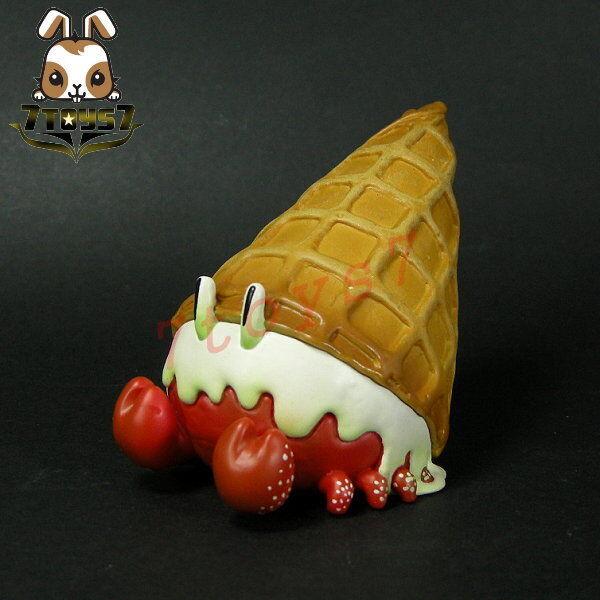 Unbox Industries Nomiwa Ice Cream Crab Red_ Vinyl Figure _Now ZZ078P