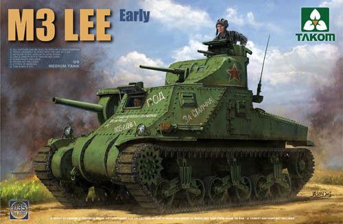 Takom 1 35 M3 Lee US Medium Tank Early