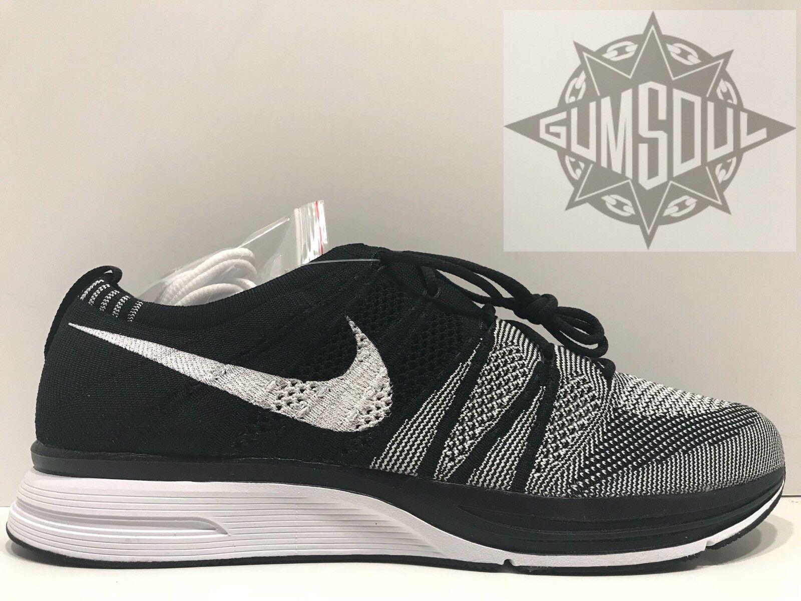 Nike flyknit trainer og bianco nero oreo ah8396 005 sz