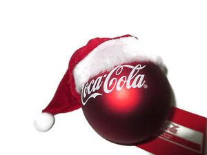 image is loading coca cola kurt adler santa hat and coca