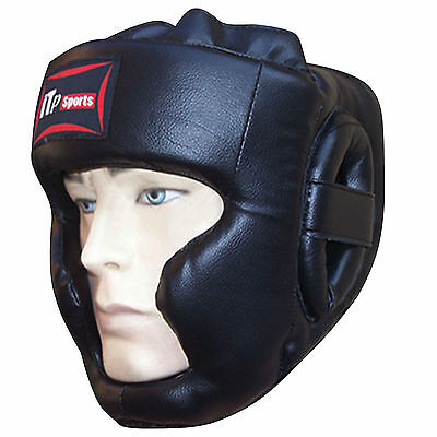 Rex Leather Boxing Head Guard Helmet Face Protector Head Protection Mens,Ladies