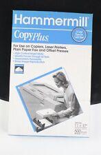 Hammermill Copyplus Paper High Contras 20lb 11 X 17 White 500 Sheets 1 Ream