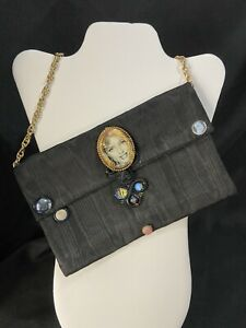 Handmade Boutique Bag With Marilyn Monroe Accent