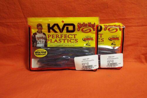 "5/"" #DSKVD5-273 Prizm Shad 2 pk STRIKE KING Perfect Plastics KVD Dream Shot"