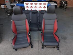 Details about HYUNDAI I30 TURBO INTERIOR RED Mk2 DRIVERS SEAT REQ REPAIR,  SEE NOTES