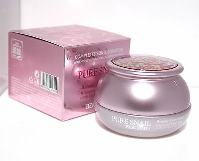 Bergamo/ Pure Snail Wrinkle Care Moisturizing Cream 50g/Age proof,hight lifting