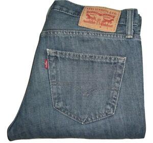 Mens-LEVI-039-S-STRAUSS-amp-CO-511-Blue-1484-Slim-Fit-Denim-Jeans-W32-L34
