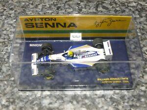 Minichamps 43ème Williams Renault Fw16 1994 Ayrton Senna