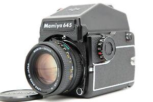 N-Nuovo-di-zecca-Mamiya-M645-1000S-con-Sekor-C-80mm-f-2-8-N-PD-Prism-Finder-dal-Giappone