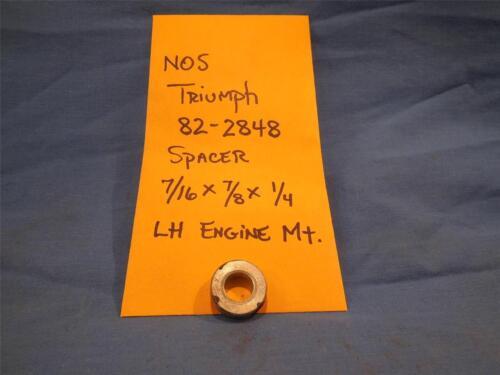 NOS  NP1166 Triumph 83-2848 Spacer 7//16 x 7//8 x 1//4 LH Engine Mt