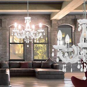 ... Decken Haenge Leuchte Pendel Lampe Chrom Kronleuchter Wohnzimmer