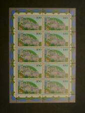 BRD MiNr.: 1809 im Zehnerbogen **, postfrisch MNH