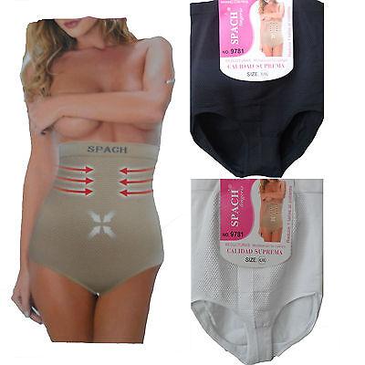 New womens girdle full brief tummy control pants bum lift shaper high rise  m-xl