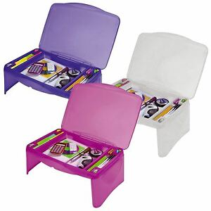 Image Is Loading Kids Portable Folding Lap Desk Writing Table With