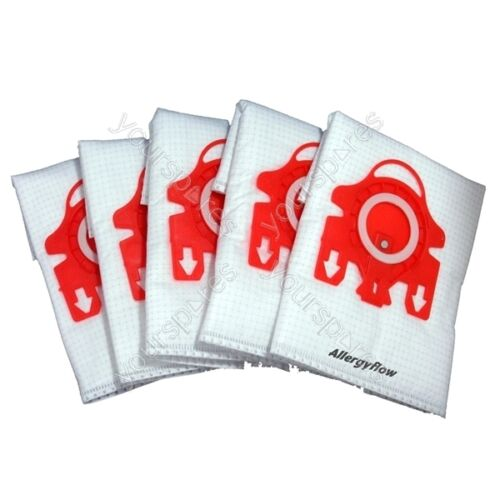 Pack of 5 Miele S256I Microfibre Vacuum Cleaner Dust Bags
