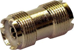 Pl258 Double Female Joiner Coupler for Pl259 Coax Connectors