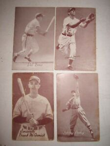LOT-OF-35-1940-039-S-BASEBALL-EXHIBIT-CARDS-5-3-8-034-X-3-3-8-034-COLLECTIBLE-BN-9