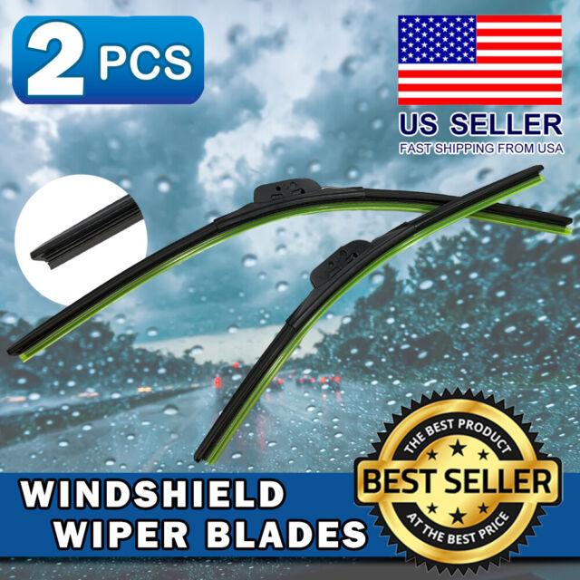 Windshield Wiper Blades Premium Silicone For 2013-2016