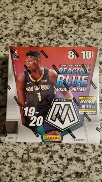 2019-20 NBA Panini Mosaic Basketball Mega Box Brand New Sealed Zion? Ja? Herro?