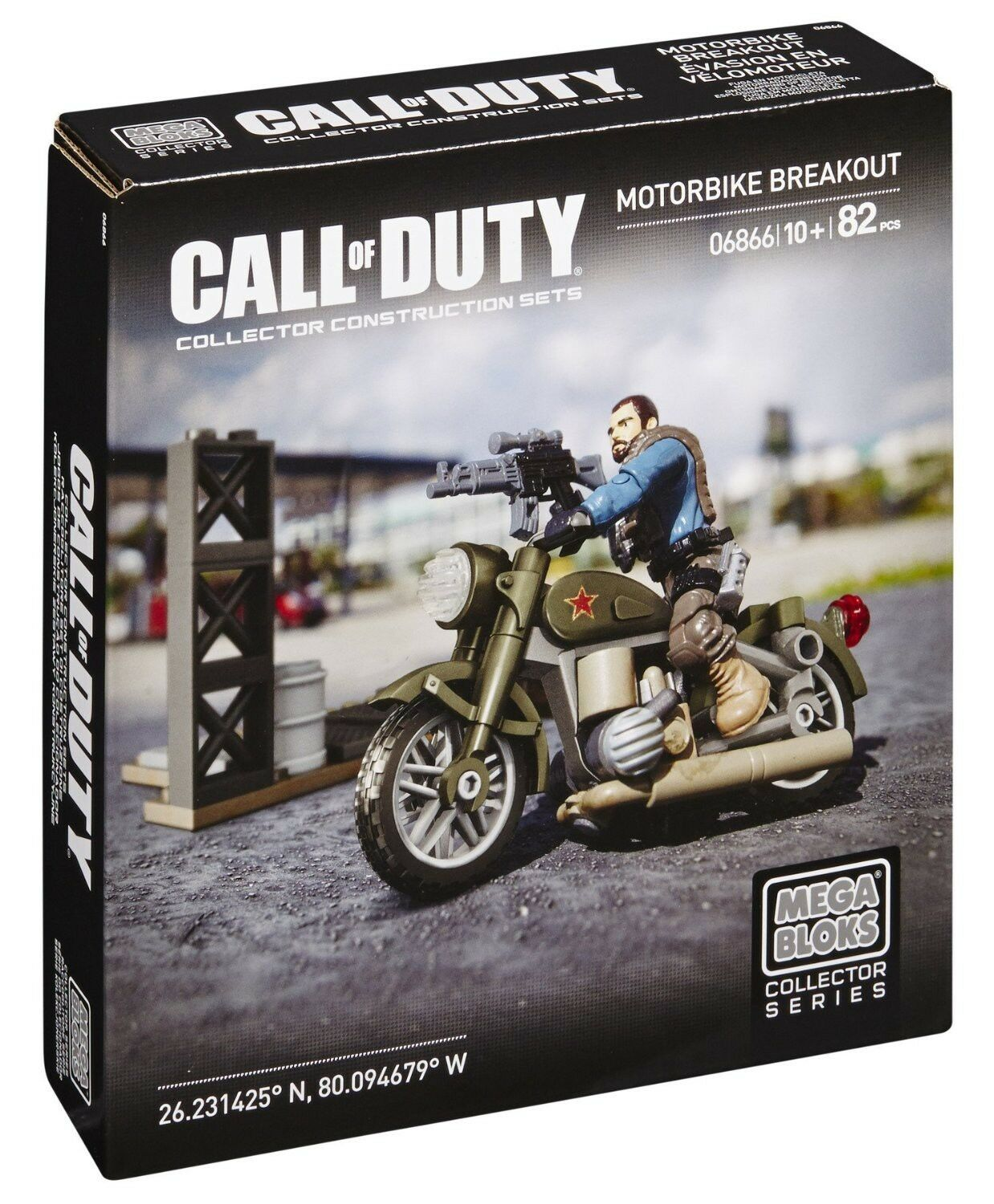 Mega Bloks Call of of of Duty Motorbike Breakout Set 87a7d4