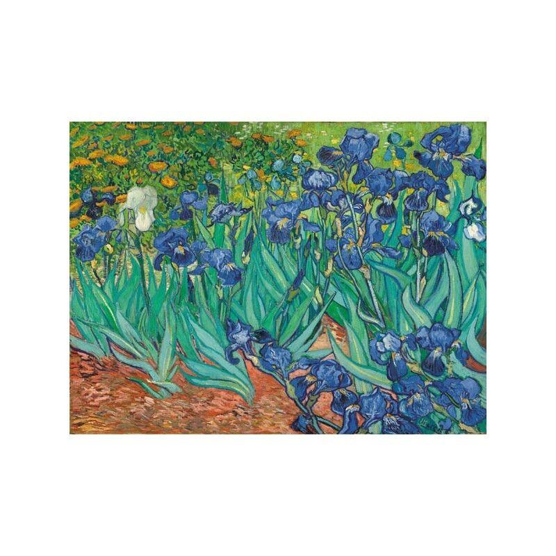 Quadro MDF su Pannello in Legno MDF Quadro Vincent Van Gogh Irises 64da33