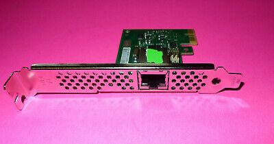 VRRH1 DELL SINGLE ETHERNET PORT PCI-E X1 NETWORK INTERFACE CARD 0VRRH1