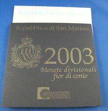 KMS Kursmünzensatz San Marino 2003 in Original Box